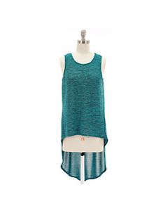 High/Low Tunic - Teal