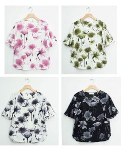 Angel Sleeve Blouse - Assorted