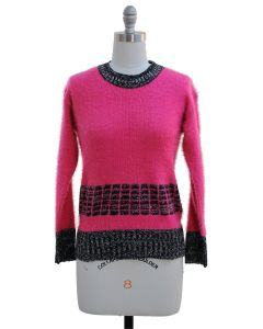 Eyelash Sweater - Pink