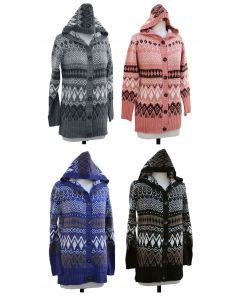 Hooded Sweater Coat