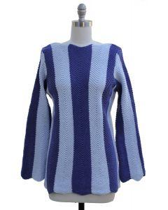 Striped Sweater - Blue