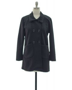 Two Pocket Front Jacket - Black