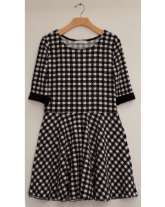 Liverpool Skater Dress - Checker