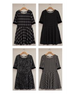 Liverpool Skater Dress - Assorted