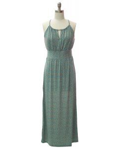 Jewel Spaghetti Strap Maxi Dress - Light Blue