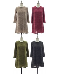 Hacci Shift Dress - Assorted