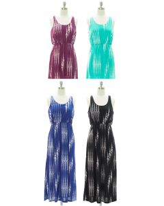 Racerback Tank Maxi Dress - Assorted