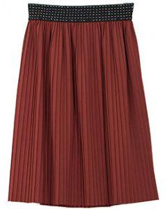 Pleated Skirt - Brown - LAST FINAL SALE