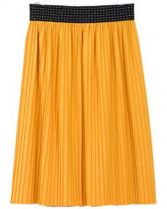 Pleated Skirt - Yellow - LAST FINAL SALE