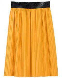 Pleated Skirt - Yellow - LAST FINAL SALE