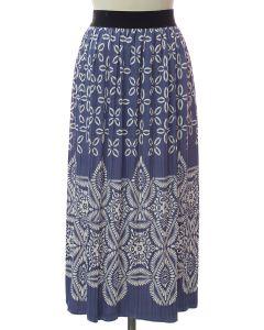 Printed Skirt - Lavender