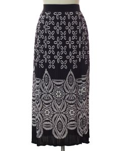 Printed Skirt - Black