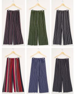 Stripe Coulottes - Assorted