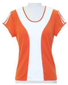 Colorblock Shirt - Tangerine