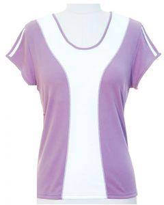 Colorblock Shirt - Lilac