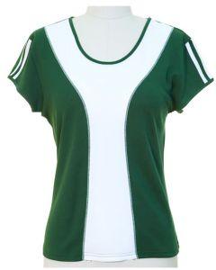 Colorblock Shirt - Hunter Green