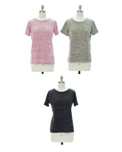Button Back Hacci Top - Assorted