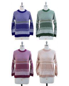 Chevron Sweater - 24 pcs