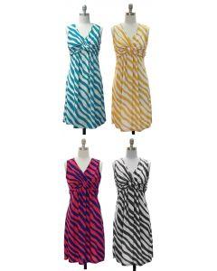 Knotted Dress - Asst