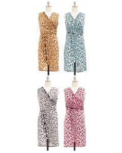 Leopard Tulip Dress - Asst