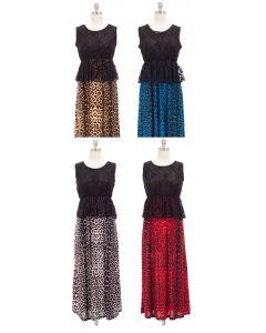 Maxi Lace Dress - Asst